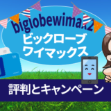 biglobewimaxビックロ―ブワイマックスの評判とキャンペーン